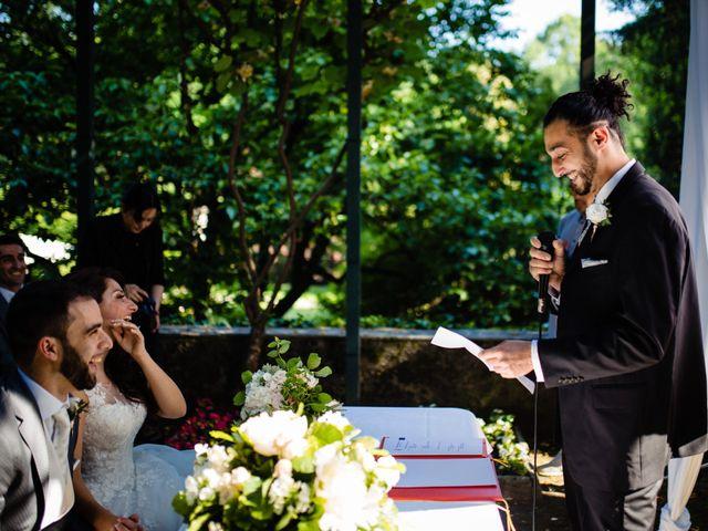 Il matrimonio di Nicola e Ludovica a Bodio Lomnago, Varese 34