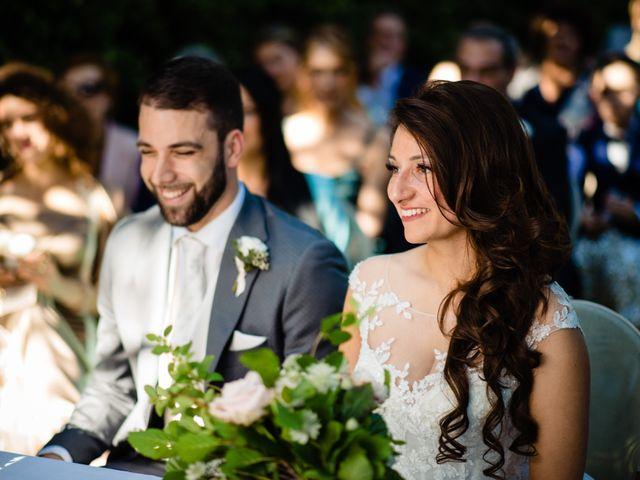 Il matrimonio di Nicola e Ludovica a Bodio Lomnago, Varese 35