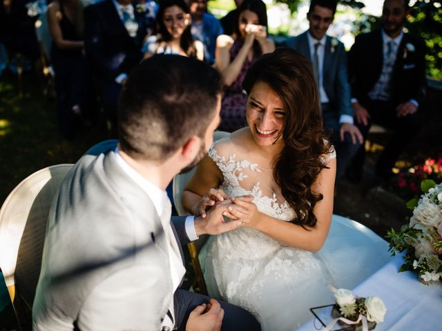 Il matrimonio di Nicola e Ludovica a Bodio Lomnago, Varese 37