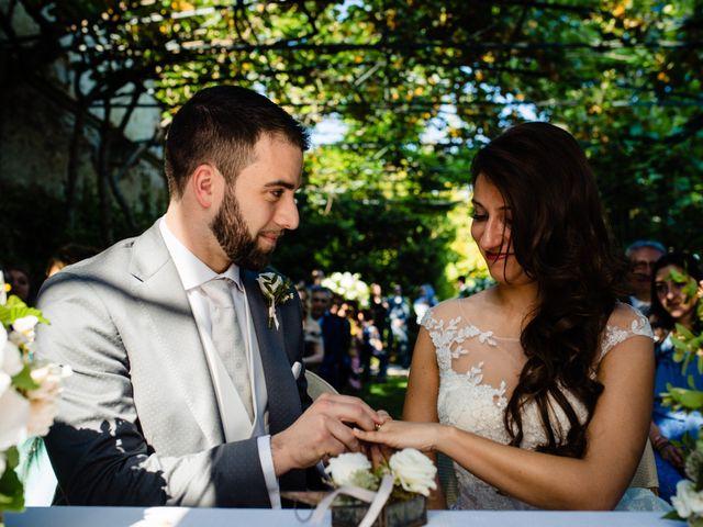 Il matrimonio di Nicola e Ludovica a Bodio Lomnago, Varese 38