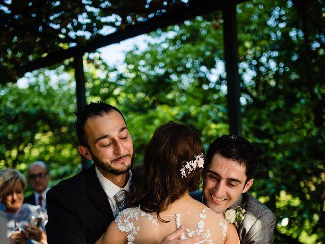 Il matrimonio di Nicola e Ludovica a Bodio Lomnago, Varese 40