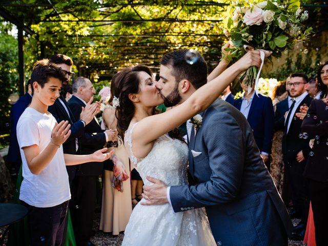 Il matrimonio di Nicola e Ludovica a Bodio Lomnago, Varese 44