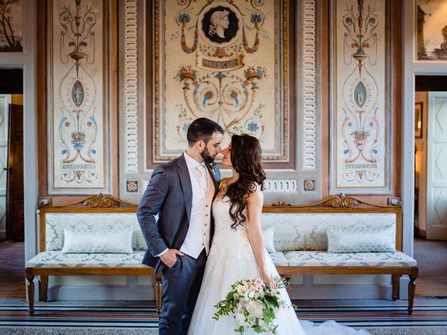 Il matrimonio di Nicola e Ludovica a Bodio Lomnago, Varese 51