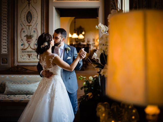 Il matrimonio di Nicola e Ludovica a Bodio Lomnago, Varese 53