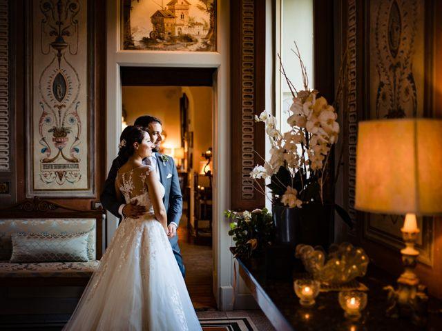Il matrimonio di Nicola e Ludovica a Bodio Lomnago, Varese 54
