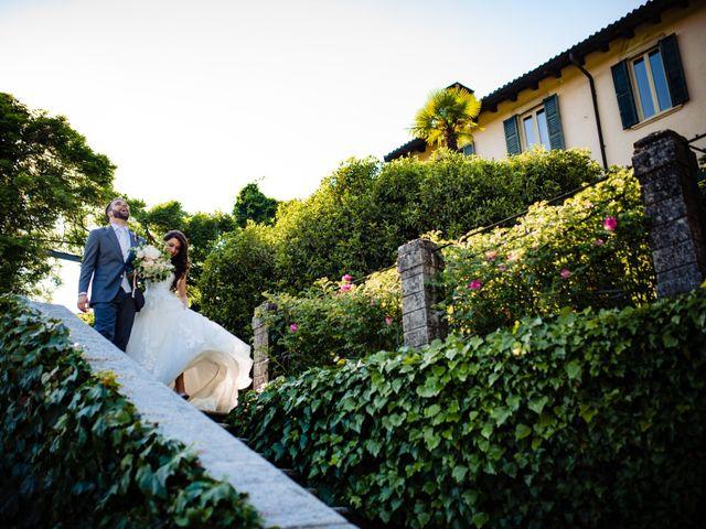 Il matrimonio di Nicola e Ludovica a Bodio Lomnago, Varese 58