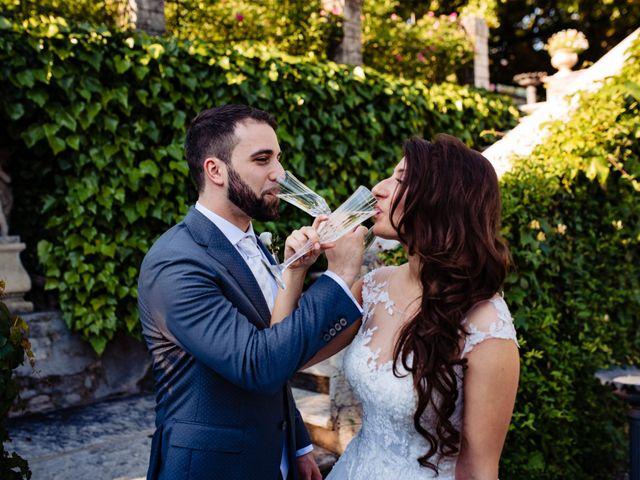 Il matrimonio di Nicola e Ludovica a Bodio Lomnago, Varese 59