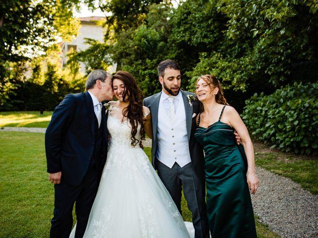 Il matrimonio di Nicola e Ludovica a Bodio Lomnago, Varese 70