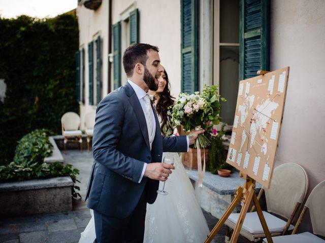 Il matrimonio di Nicola e Ludovica a Bodio Lomnago, Varese 76