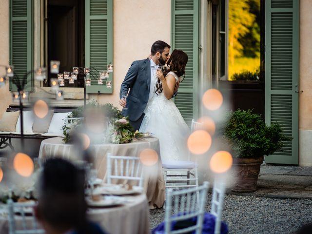 Il matrimonio di Nicola e Ludovica a Bodio Lomnago, Varese 77