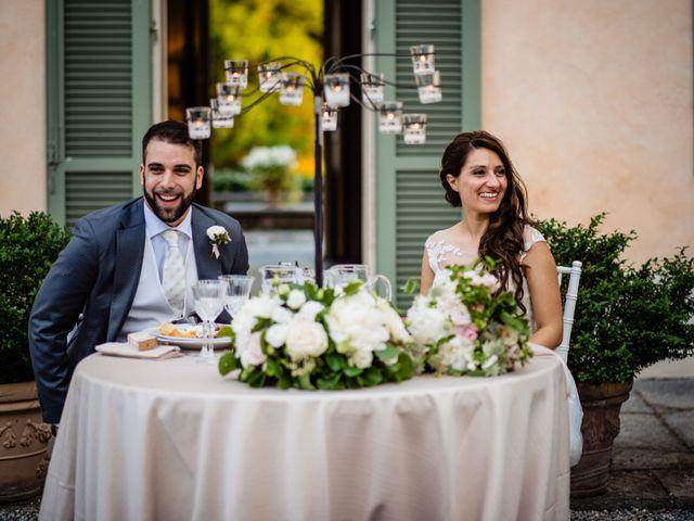 Il matrimonio di Nicola e Ludovica a Bodio Lomnago, Varese 80