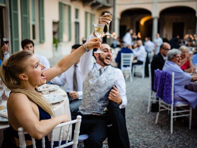 Il matrimonio di Nicola e Ludovica a Bodio Lomnago, Varese 84