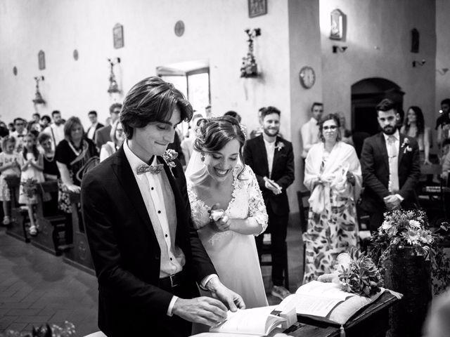 Il matrimonio di Emanuele e Marta a Gaiole in Chianti, Siena 10