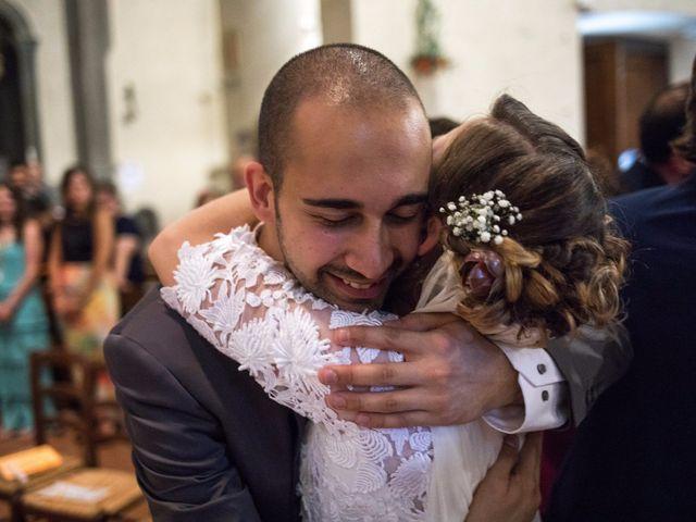Il matrimonio di Emanuele e Marta a Gaiole in Chianti, Siena 12