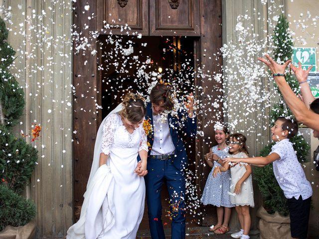 Il matrimonio di Emanuele e Marta a Gaiole in Chianti, Siena 14
