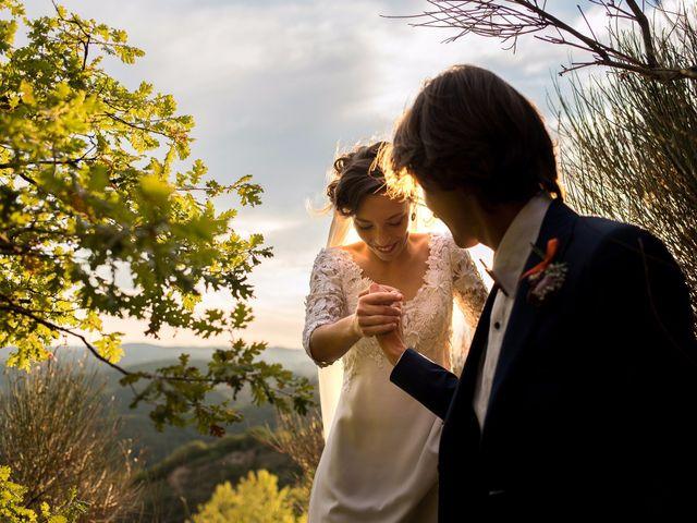 Il matrimonio di Emanuele e Marta a Gaiole in Chianti, Siena 16