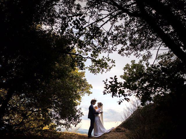 Il matrimonio di Emanuele e Marta a Gaiole in Chianti, Siena 17