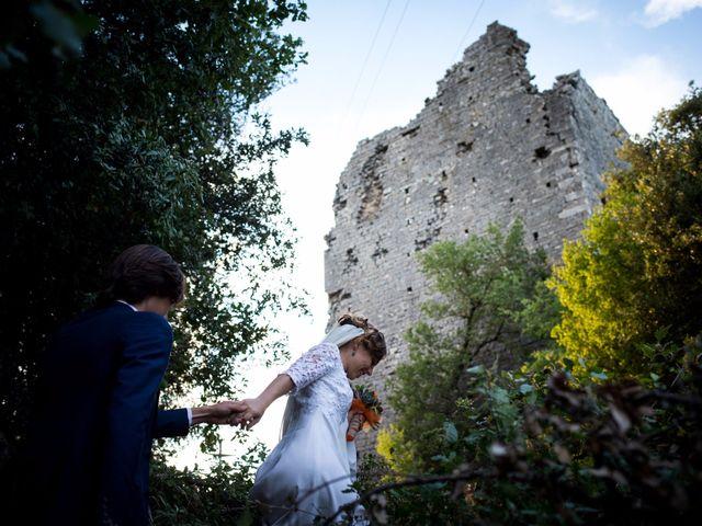 Il matrimonio di Emanuele e Marta a Gaiole in Chianti, Siena 18