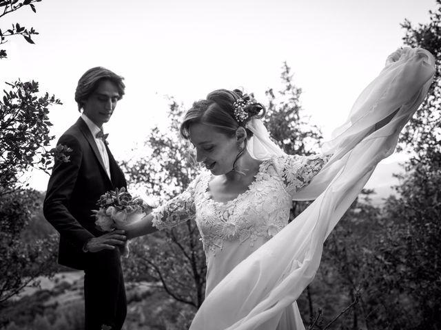Il matrimonio di Emanuele e Marta a Gaiole in Chianti, Siena 23