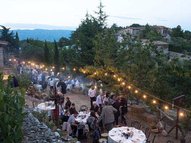 Il matrimonio di Emanuele e Marta a Gaiole in Chianti, Siena 31