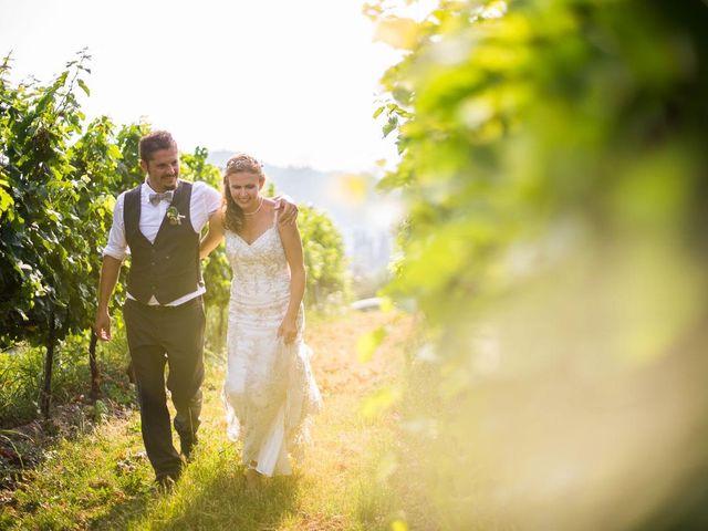 le nozze di Sarah e Stefano