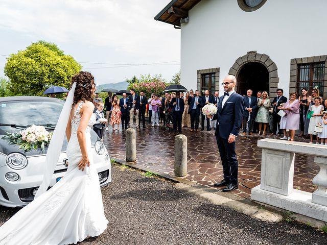 Il matrimonio di Mattia e Giulia a Corte Franca, Brescia 9