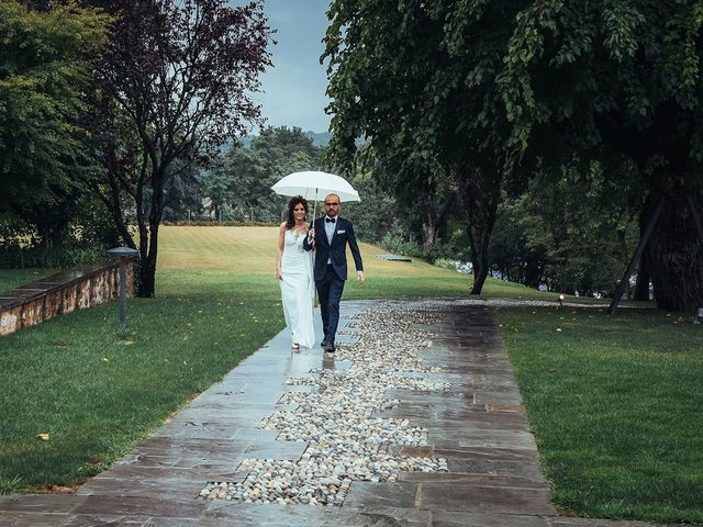 Il matrimonio di Mattia e Giulia a Corte Franca, Brescia 17