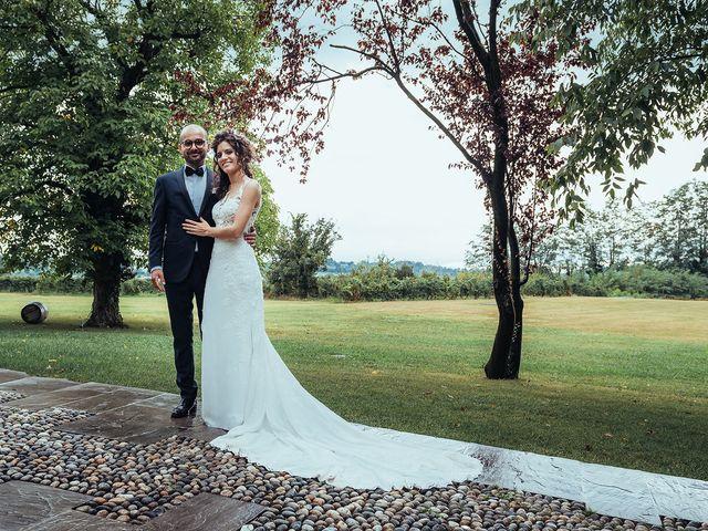 Il matrimonio di Mattia e Giulia a Corte Franca, Brescia 19