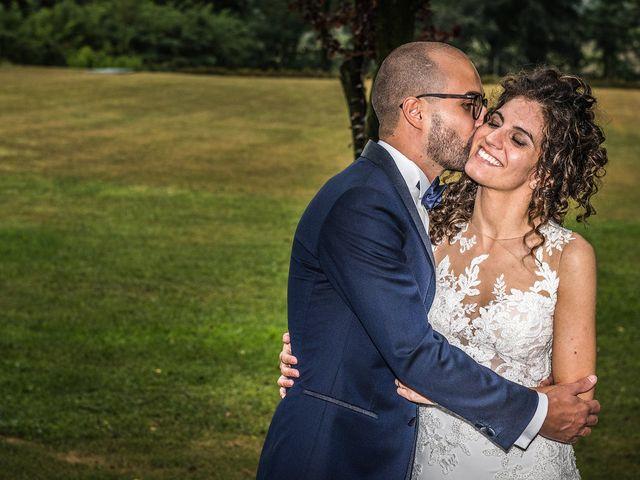 Il matrimonio di Mattia e Giulia a Corte Franca, Brescia 20