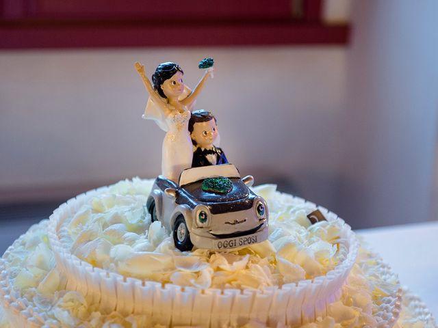 Il matrimonio di Mattia e Giulia a Corte Franca, Brescia 22