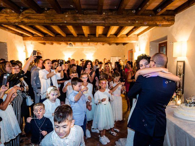 Il matrimonio di Mattia e Giulia a Corte Franca, Brescia 24