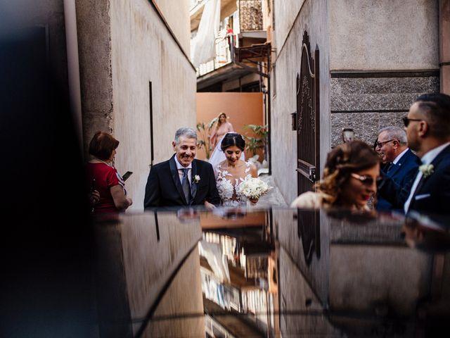 Il matrimonio di Daniele e Giusy a Valverde, Catania 10