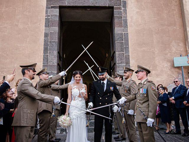 Il matrimonio di Daniele e Giusy a Valverde, Catania 17