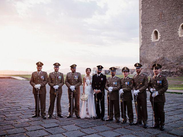 Il matrimonio di Daniele e Giusy a Valverde, Catania 19