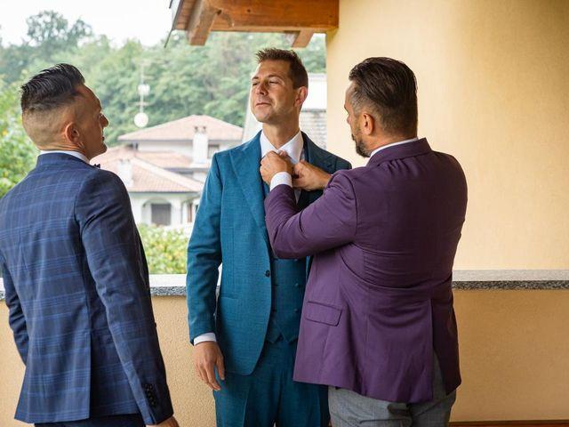Il matrimonio di Fabrizio e Erica a Gavirate, Varese 4