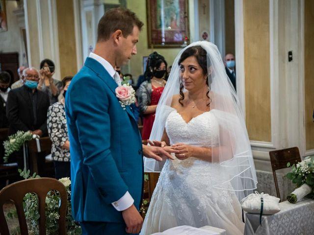 Il matrimonio di Fabrizio e Erica a Gavirate, Varese 21