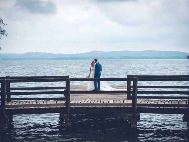 Il matrimonio di Fabrizio e Erica a Gavirate, Varese 25