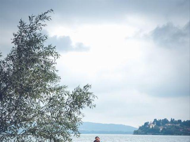 Il matrimonio di Fabrizio e Erica a Gavirate, Varese 27
