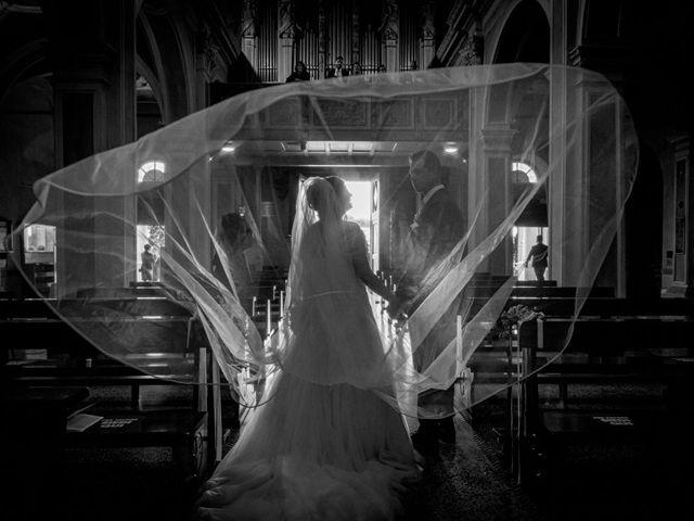 Il matrimonio di Fabrizio e Erica a Gavirate, Varese 28