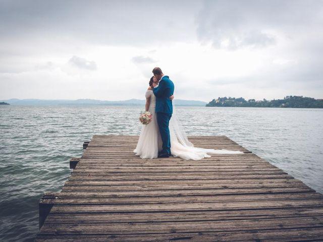Il matrimonio di Fabrizio e Erica a Gavirate, Varese 32