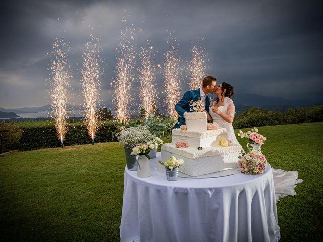 Il matrimonio di Fabrizio e Erica a Gavirate, Varese 43