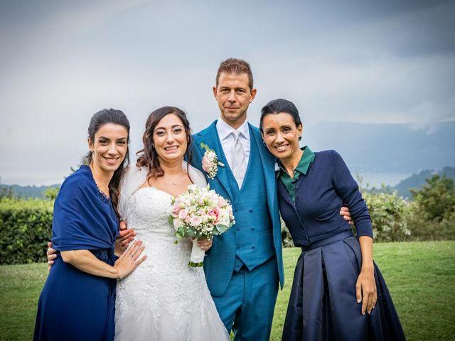 Il matrimonio di Fabrizio e Erica a Gavirate, Varese 46