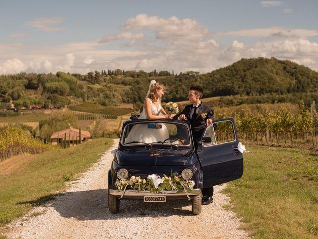 Il matrimonio di Paolo e Martina a Capannoli, Pisa 50