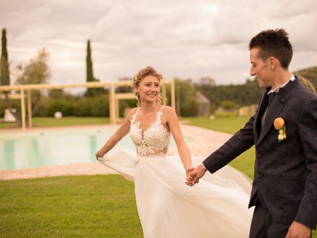 Il matrimonio di Paolo e Martina a Capannoli, Pisa 78