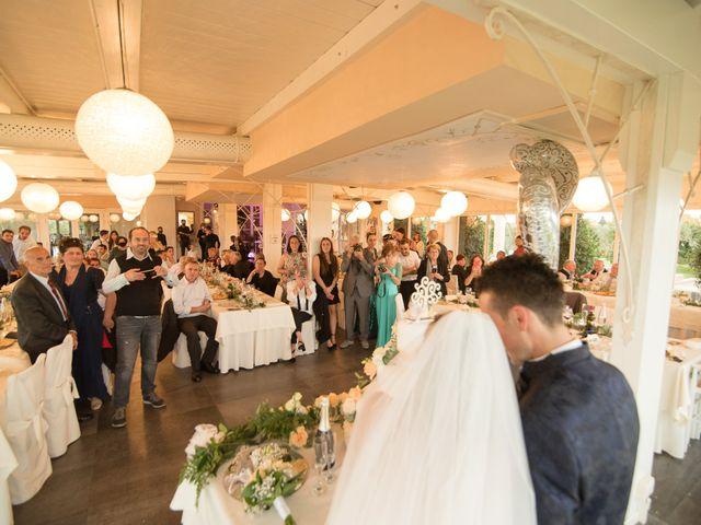 Il matrimonio di Paolo e Martina a Capannoli, Pisa 80