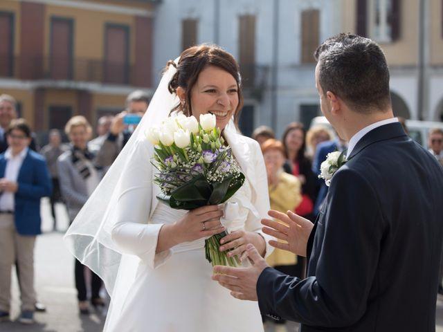 Il matrimonio di Davide e Flavia a Remedello, Brescia 32