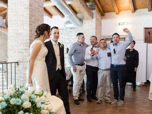 Il matrimonio di Davide e Flavia a Remedello, Brescia 54
