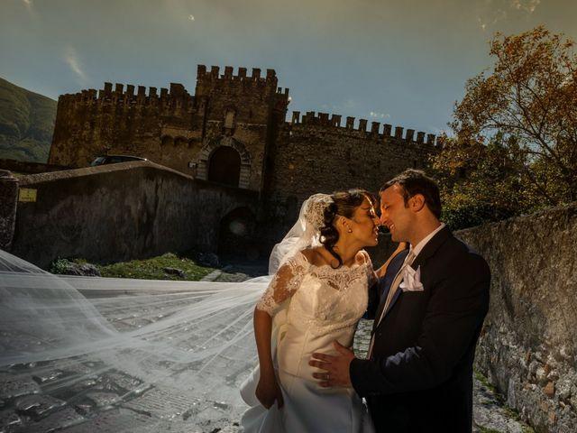 le nozze di Dominique e Gianluca