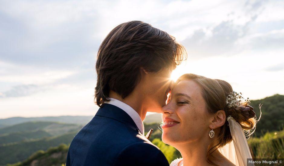 Il matrimonio di Emanuele e Marta a Gaiole in Chianti, Siena