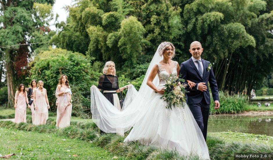 Il matrimonio di Valentino e Gabriela a Quinto Vicentino, Vicenza